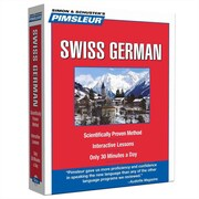 Swiss German, Compact Pimsleur Audiobook