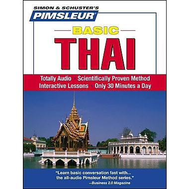 Thai, Basic: Learn to Speak and Understand Thai with Pimsleur Language Programs Pimsleur CD