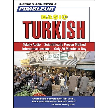 Turkish, Basic: Learn to Speak and Understand Turkish with Pimsleur Language Programs Pimsleur CD