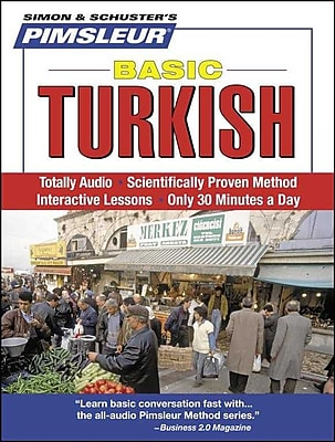Turkish, Basic: Learn to Speak and Understand Turkish with Pimsleur Language Programs