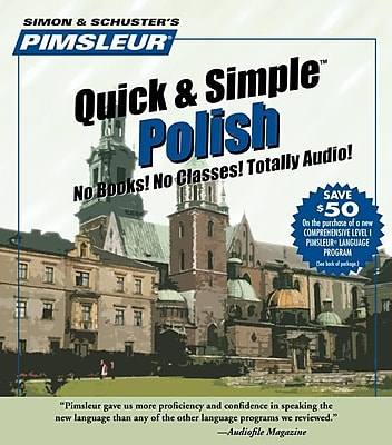 Polish, Learn to Speak and Understand Polish with Pimsleur Language