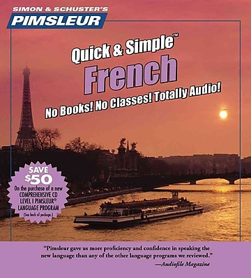 French, Q&S: Learn to Speak and Understand French with Pimsleur Language Programs