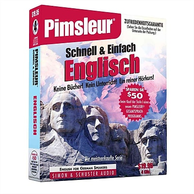 English for German, Q&S Pimsleur CD