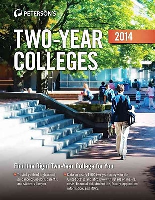 Two-Year Colleges 2014 Peterson's Paperback