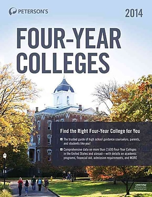 Four-Year Colleges 2014 Peterson's Paperback