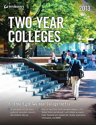 Four-Year Colleges 2013 Peterson's Paperback