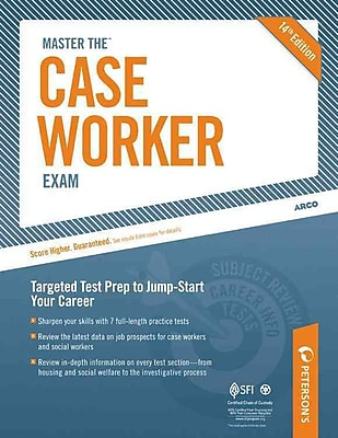 Master the Case Worker Exam (Arco Master the Case Worker Exam) Peterson's Paperback