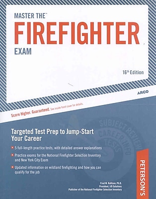 Master The Firefighter Exam: Targeting Test Prep to Jump-Start Your Career Paperback