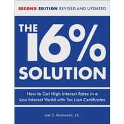 The 16% Solution J.D. Joel S. Moskowitz Hardcover