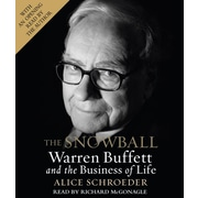 The Snowball: Warren Buffett and the Business of Life  Alice Schroeder  Audiobook CD