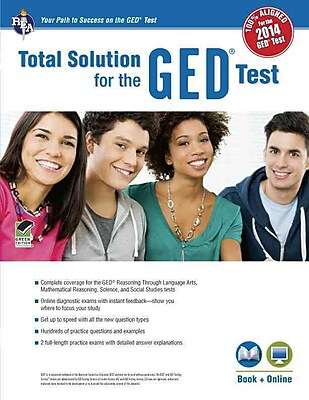 GED®Test, REA's Total Solution For the New 2014 GED® Test (GED® & TABE Test Preparation)