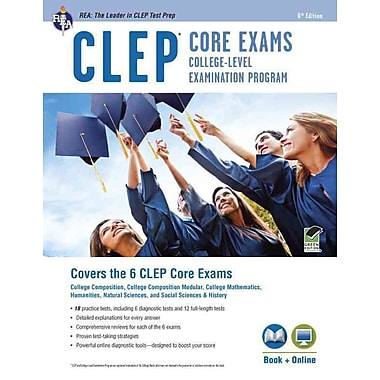 CLEP Core Exams Book + Online (CLEP Test Preparation) Paperback
