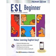 ESL Beginner Premium Edition with e-flashcards (English as a Second Language Series) Paperback