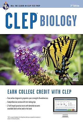 CLEP Biology Book + Online (CLEP Test Preparation) Laurie Ann Callihan , CLEP Paperback