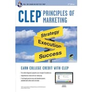 CLEP Principles of Marketing Book + Online (CLEP Test Preparation) Paperback