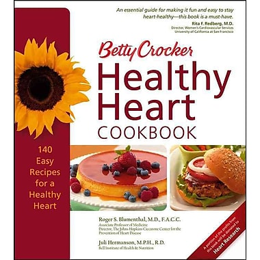 Betty Crocker Healthy Heart Cookbook (Betty Crocker Books) Hardcover