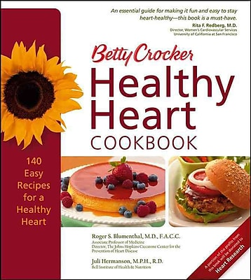 Betty Crocker Healthy Heart Cookbook (Betty Crocker Books) Hardcover