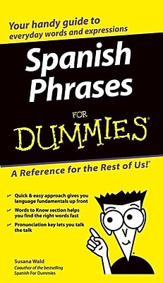 Spanish Phrases For Dummies Susana Wald Paperback
