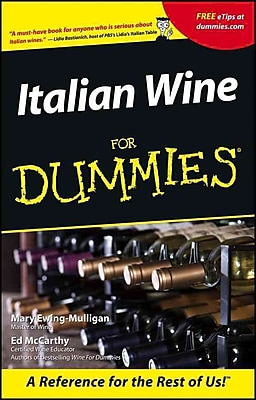 Italian Wine For Dummies Mary Ewing-Mulligan, McCarthy Paperback