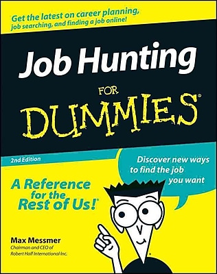 Job Hunting for Dummies, 2nd Edition Max Messmer Paperback