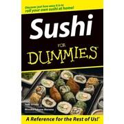 Sushi For Dummies  Judi Strada, Mineko Takane Moreno Paperback