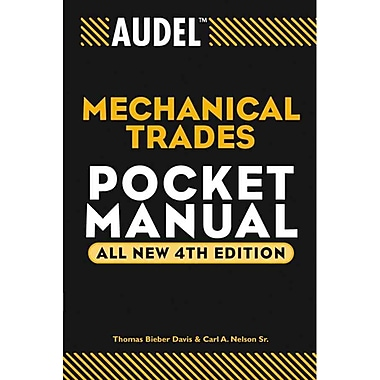 Audel Mechanical Trades Pocket Manual (Audel Technical Trades Series) Paperback