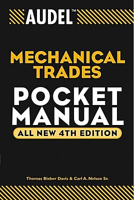 Audel Mechanical Trades Pocket Manual (Audel Technical Trades Series) Paperback