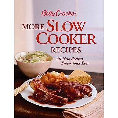 Betty Crocker More Slow Cooker Recipes (Betty Crocker Books) Betty Crocker Spiral-bound