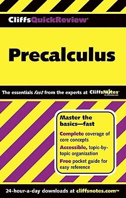 CliffsQuickReview Precalculus W. Michael Kelley Paperback