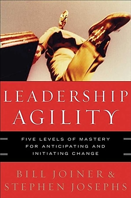 Leadership Agility: Five Levels of Mastery for Anticipating and Initiating Change Hardcover