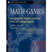 Math Games Judith A./ Muschla, Gary Robert Muschla Paperback
