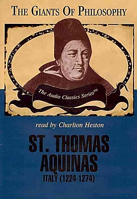 St. Thomas Aquinas (The Giants of Philosophy) Professor Kenneth L. Schmitz CD