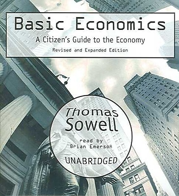 Basic Economics (2nd Edition): A Citizen's Guide to the Economy Thomas Sowell Audiobook