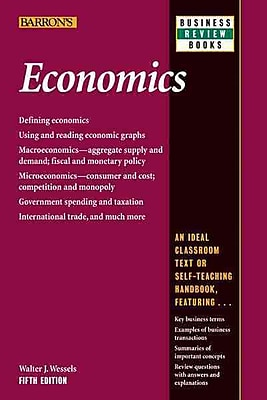 Economics (Barron's Business Review Series) Walter J. Wessels Paperback