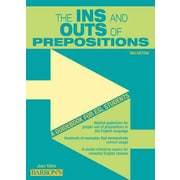The Ins and Outs of Prepositions: A Guidebook for ESL Students Jean Yates Paperback