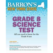 Barron's New York State Grade 8 Science Test, 3rd Edition Edward Denecke Jr. Paperback