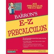 E-Z Precalculus (Barron's E-Z) Lawrence Leff Paperback
