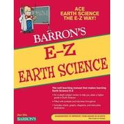 E-Z Earth Science (Barron's E-Z) Alan Sills Paperback