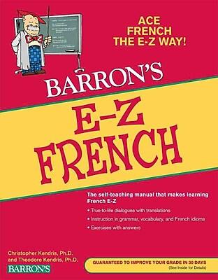 E-Z French (Barron's E-Z Series)