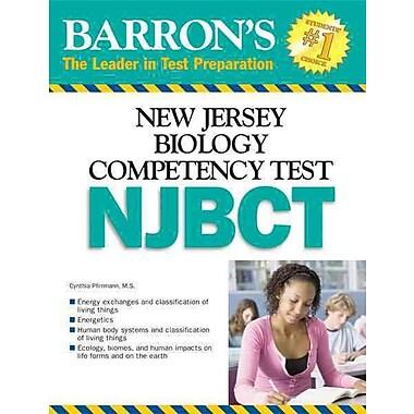 Barron's New Jersey Biology Competency Test Cynthia Pfirrmann Paperback