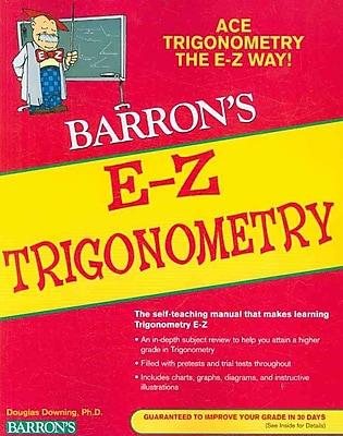 E-Z Trigonometry (Barron's E-Z) Douglas Downing Paperback