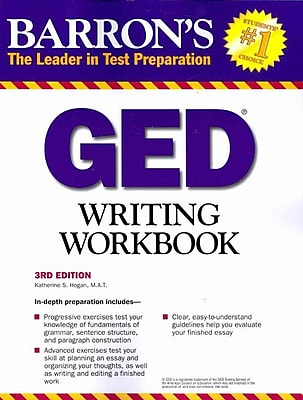 Barron's GED Writing Workbook Katherine Hogan Paperback