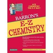 E-Z Chemistry (Barron's E-Z Series) Joseph A. Mascetta, Mark C. Kernion Paperback