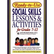 Ready-to-Use Social Skills Lessons & Activities for Grades 7-12