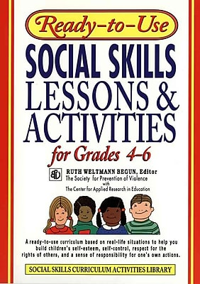 Ready-to-Use Social Skills Lessons & Activities for Grades 4 - 6