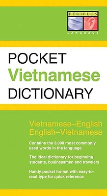 Pocket Vietnamese Dictionary: Vietnamese-English English-Vietnamese Paperback