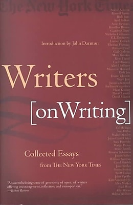 Writers on Writing: Collected Essays from The New York Times The New York Times Paperback