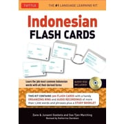 Indonesian Flash Cards: (Audio CD Included) (Tuttle Flash Cards) Paperback