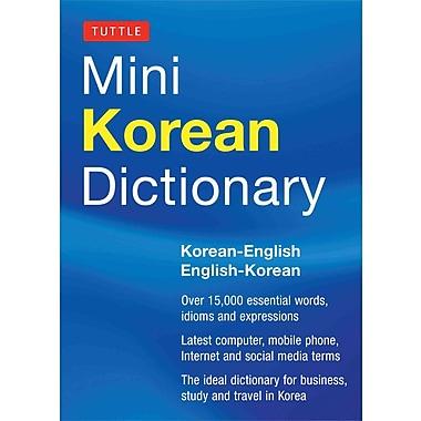 Tuttle Mini Korean Dictionary Tuttle Editors Tuttle Editors