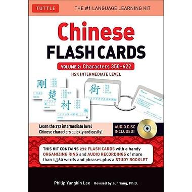 Chinese Flash Cards Kit Volume 2 Philip Yungkin Lee Paperback